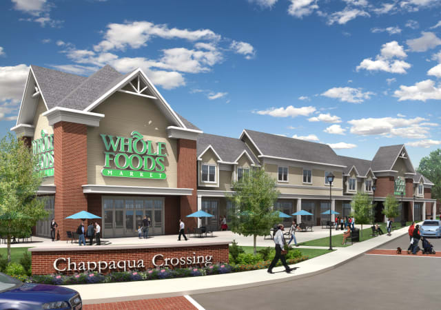 A rendering of the proposed Whole Foods for Chappaqua Crossing
