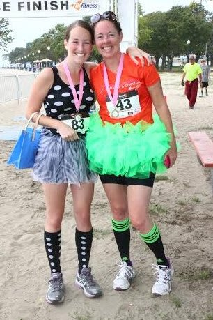 Awards for best tutus for men and women will be among the features at a triathlon Sunday in Norwalk.