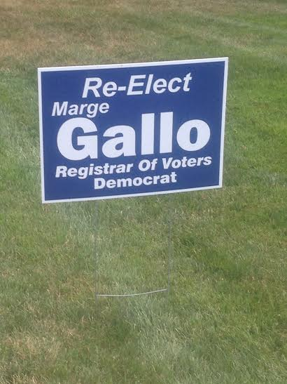 Marge Gallo, the incumbent, won the Democratic primary in Danbury for registrar of voters.