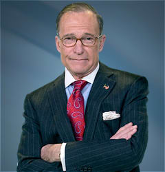"Lawrence Alan ""Larry"" Kudlow turns 67 on Wednesday."