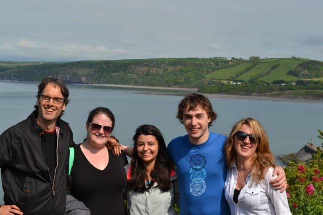 Creative writing students from Manhattanville College had the opportunity to study abroad.