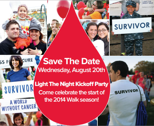 Leuekemia & Lymphomia Society will light the night with its kick off party at Manhattanville College.