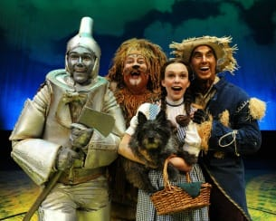 "Westchester Broadway Theatre is presents ""The Wizard Of Oz"" through Sept. 21."