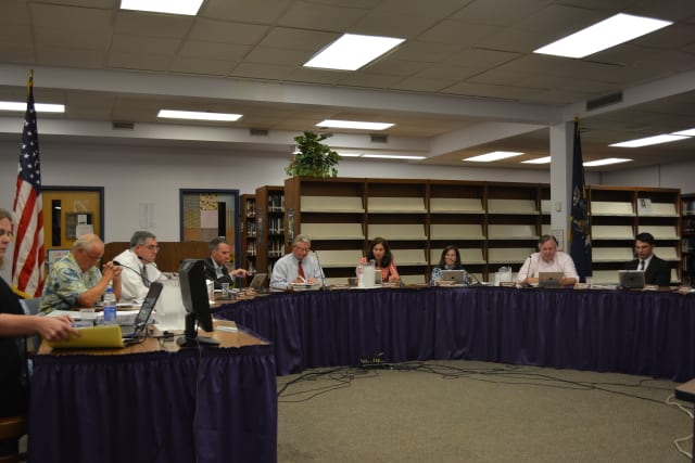 File Photo: the Katonah-Lewisboro school board.