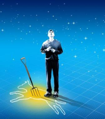 """The Curious Incident of the Dog in the Night Time"" play is based on the novel written by Mark Haddon."