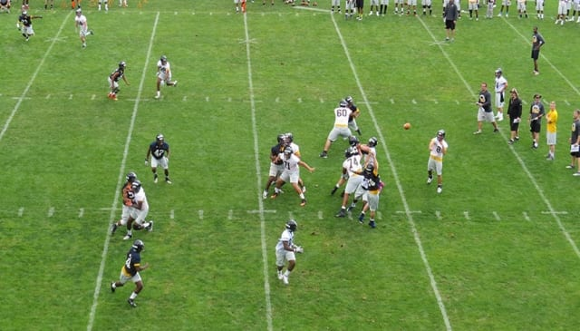Pace football opens preseason with high hopes for the season.