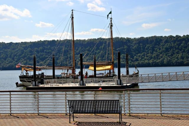 The schooner Lois McClure will be docked in Yonkers and open to the public on Thursday to commemorate The War of 1812 Bicentennial.