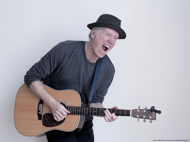 Grammy Award-winning singer Loudon Wainwhright III will perform at The Ridgefield Playhouse on Sept. 12.