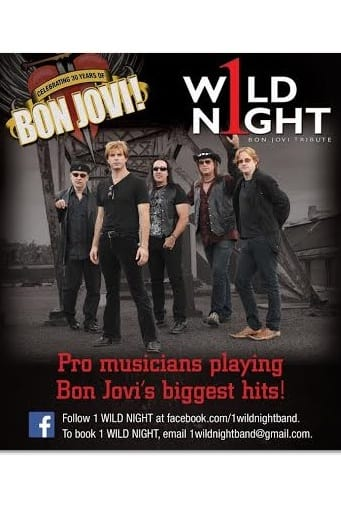 1 Wild Night, a Bon Jovi tribute band, will play Molly Darcy's in Danbury on Saturday, Sept. 20.
