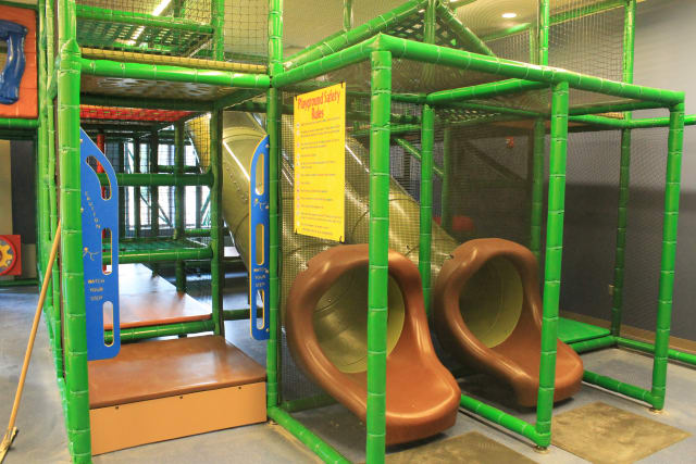 Students in the Y's After School Program will be able to enjoy the Fort Mack playscape and more.