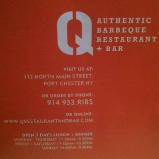 The restaurant Q in Port Chester settled a branding dispute with the Stamford restaurant Bar Q recently.
