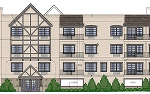 Pinebrook Condominium, a fair and affordable housing development on Palmer Avenue in Larchmont, is scheduled to open next year.