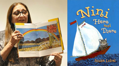Children's book author and Caldecott Medal Winner Anita Lobel will hold a book reading and signing as part of Arts Fest at the transFORM gallery this September.