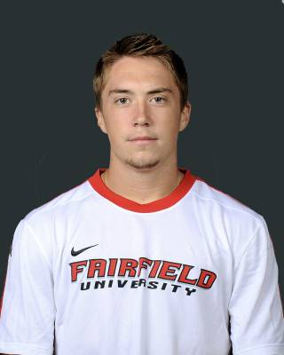 Hrvoje Glavan, a Mamaroneck resident, is a midfielder on Fairfield University men's soccer team.