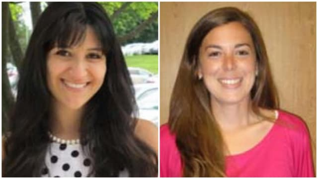 Rye City School District welcomes Amanda Albano and Lisa-Marie DiRusso.