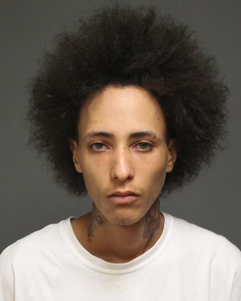 Miguel Rolon Martinez of Bridgeport and a 17-year-old male were charged with several counts of burglary after finding stolen laptops in his car.