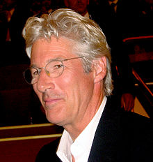 Richard Gere, turns 65 on Sunday.
