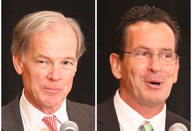 The November election for governor between Tom Foley, left, and Dannel Malloy is a rematch of the 2010 election, which Malloy won by fewer than 7,000 votes.
