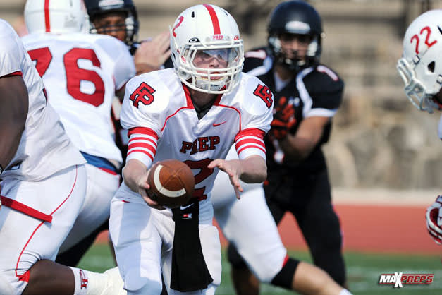 Fairfield Prep quarterback Colton Smith rushed for 29 touchdowns last season to lead the team to a 11-3 record.