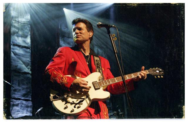Chris Isaak will perform at the Ridgefield Playhouse on Wednesday, Sept. 3.