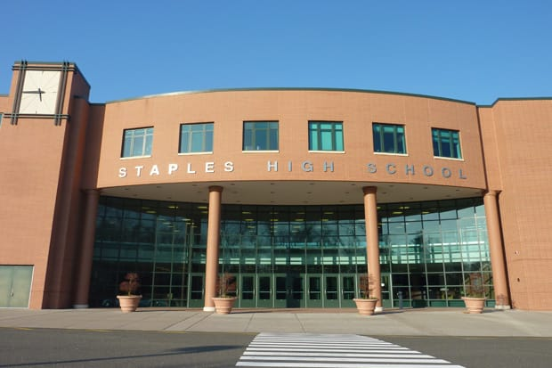 Staples High School was recently named one of the nation's best.