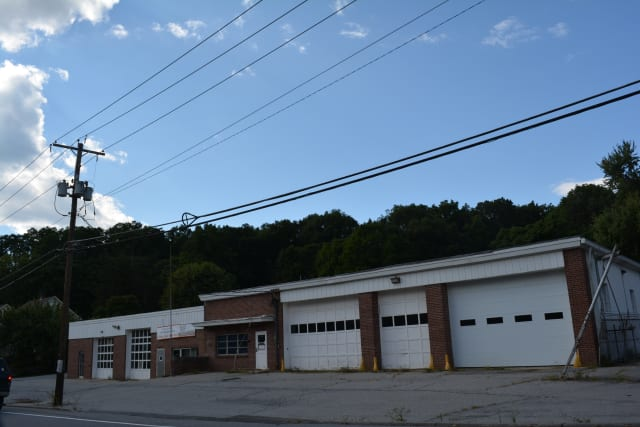 The site of the new Croton Falls firehouse.