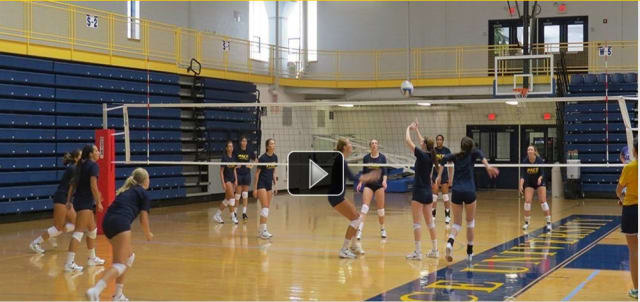 Visit Pace athletics website to view a video of volleyball's preseason camp.