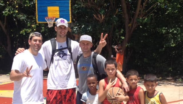 Pace University men's basketball assistant coach Andrew Impastato traveled to Cuba for a goodwill initiative.
