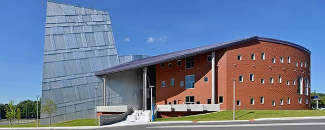 The new Visual and Performing Arts Center at Western Connecticut State University in Danbury is finished and ready to be dedicated at the school's Westside Campus.