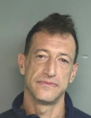 Douglas Deluca, 49, of 27 Long Hill Drive, was arrested after a confrontation with his sister on Labor Day.