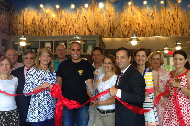SoNo Baking Company recently had a ribbon cutting at its new location at 49 Tokeneke Road in Darien. See story for picture IDs.