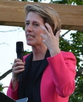 Zephyr Teachout, above, Gov. Cuomo's Democratic Primary challenger, will debate Republican Rob Astorino Thursday morning on WNYC radio.