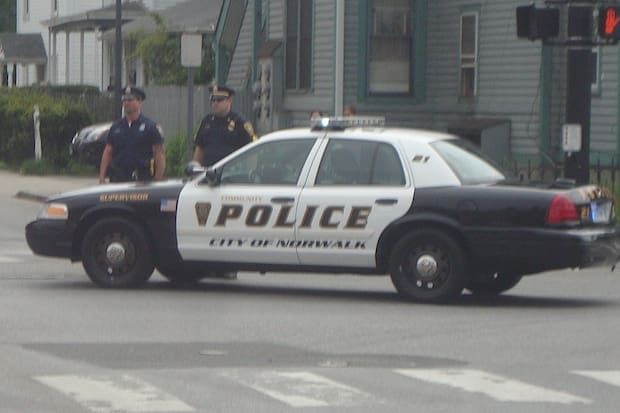 Norwalk police said a 27 year-old woman left her kids in her car Wednesday afternoon.