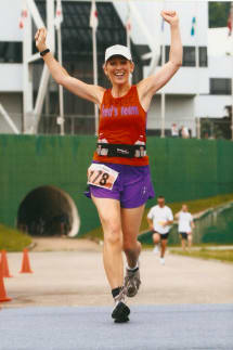 Norwalk's Debbie Moran will run her 10th marathon on Sunday at the New York City Marathon.