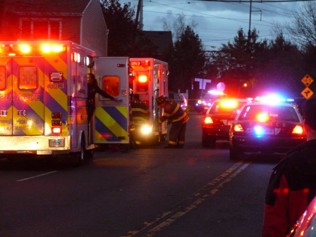 Norwalk police, EMS and fire personnel responded to a drive-by shooting on Fort Point Street Tuesday evening.