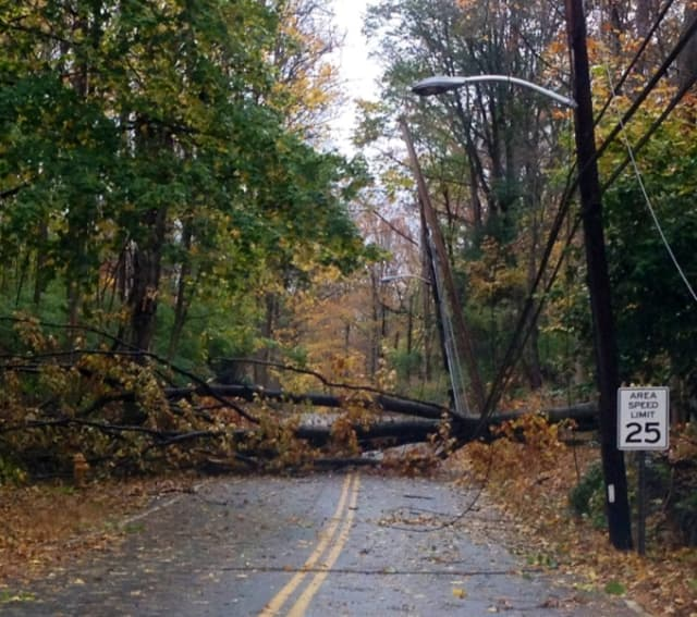 Power was expected to be out for days to come in Cortlandt and Croton.