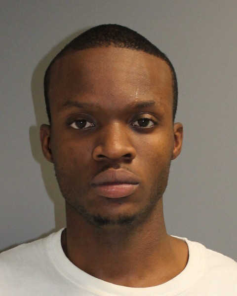 Tishawn Maile, 22, of the Bronx, NY, was arrested on larceny charges in Norwalk Thursday after police said he stole from a home he was hired to help clean following Hurricane Sandy.