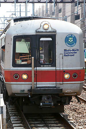 Trains will begin running again in Danbury, Ridgefield, Redding and Wilton on Monday after service was halted for a week by Hurricane Sandy.