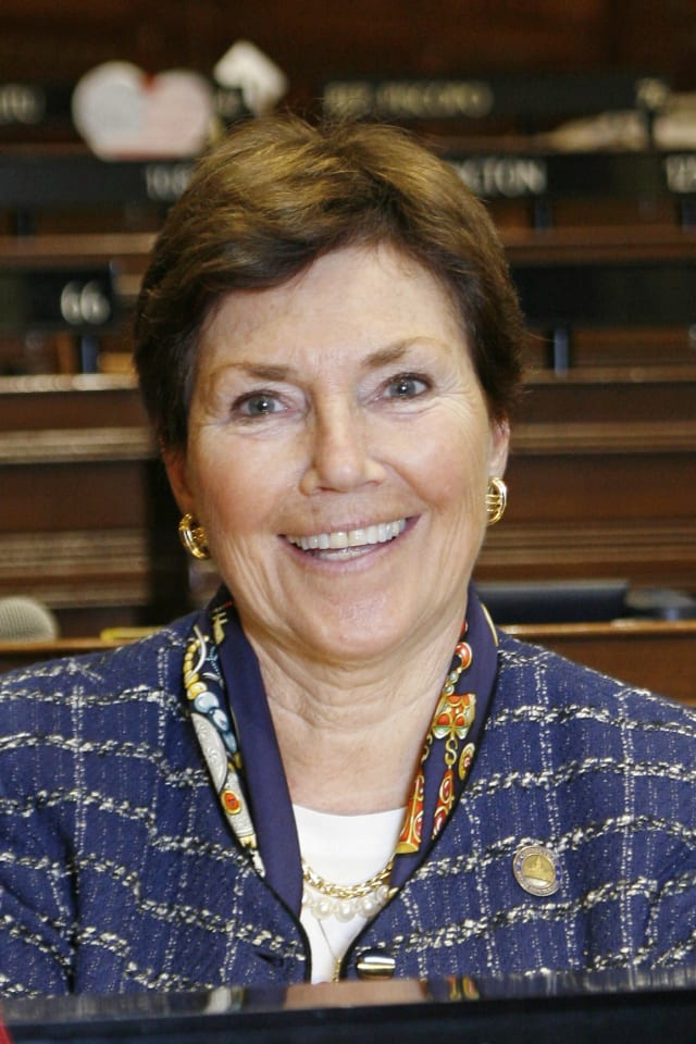 Republican incumbent Livvy Floren is running for her seventh term as the state Representative in the 139th District, which includes Greenwich and North Stamford.