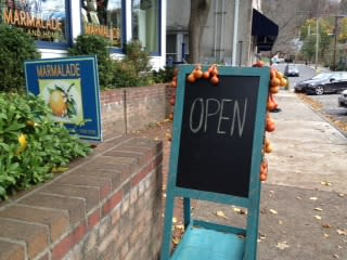 Marmalade in downtown Chappaqua is open for business.