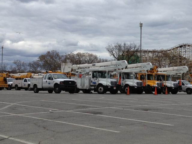 More than 2,600 Con Edison customers remain without power in Eastchester.