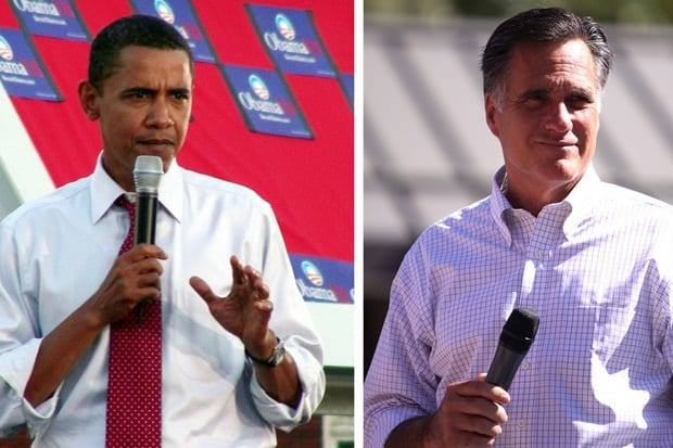 New Canaan voters are going to the polls today to choose between Barack Obama and Mitt Romney, along with candidates in several other national and state races.
