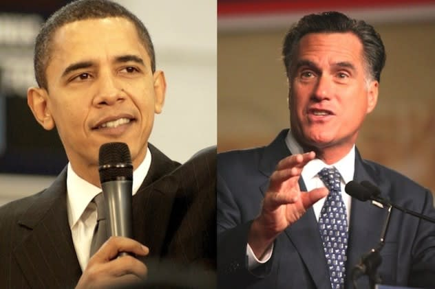 Darien voters picked Mitt Romney for president, though published reports are projecting Barack Obama as winning Connecticut.