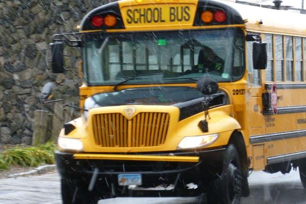 Snow has delayed school in New Canaan Thursday.