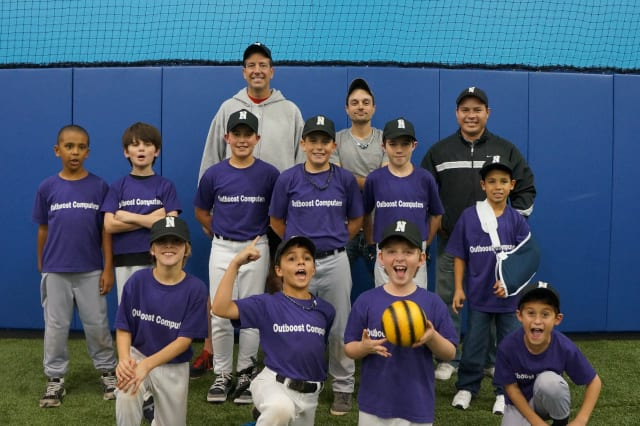 Outboost Comuters won the Fall Baseball Championship for 7-9-year-old teams in the Norwalk Recreationand Parks League.