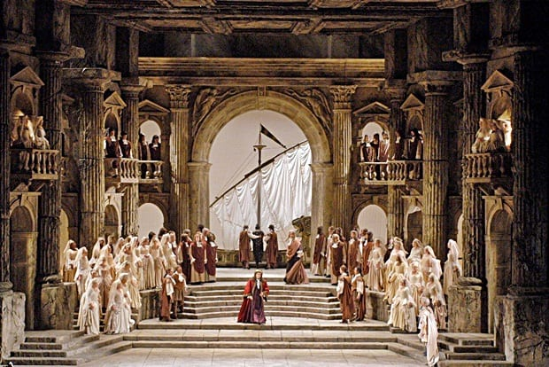 """The Ridgefield Playhouse will show Mozart's """"La Clemenza di Tito"""" live in high definition from the Metropolitan Opera at 6 p.m. Dec. 3."""