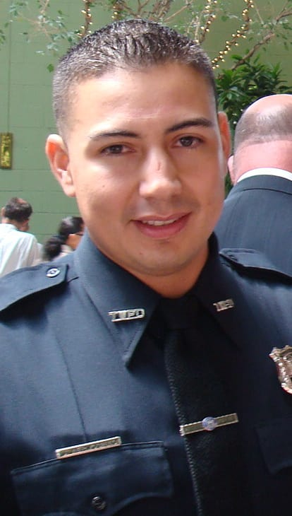 Officer Julian Hermosillo was a he Peekskill police officer for 2 ½ years.