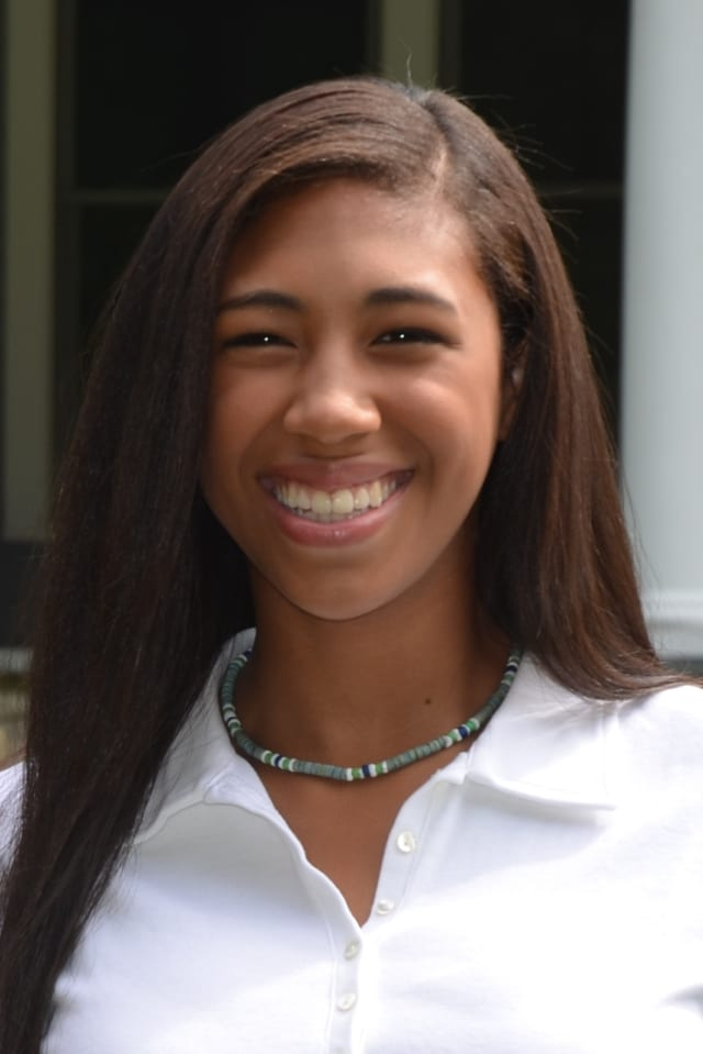 """Greenwich High student Jenny Cespedes will be honored at the """"Light A Fire Awards"""" as an outstanding teen volunteer."""