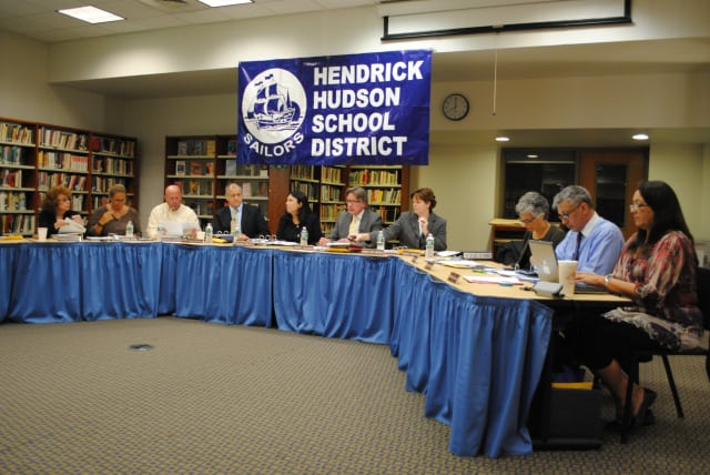 Several members of the Hendrick Hudson school board will be at Dunkin' Donuts in Buchanan for a meet and greet Saturday morning.