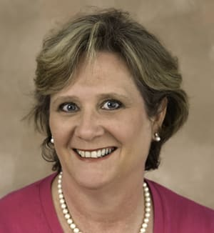 Peg Koellmer, owner of Realty Seven, is the new president of the Wilton Chamber of Commerce Board of Directors.